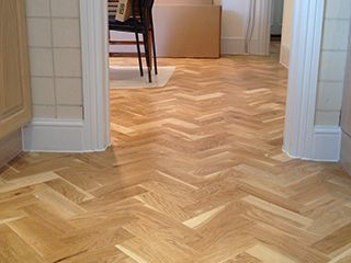 After-Herringbone Installation