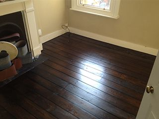 After-Sand and Seal Pine Flooring