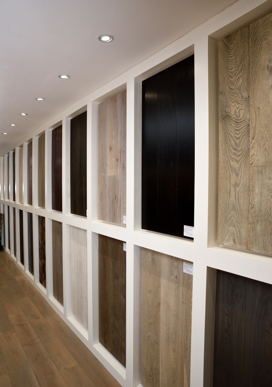 wood flooring showroom in london
