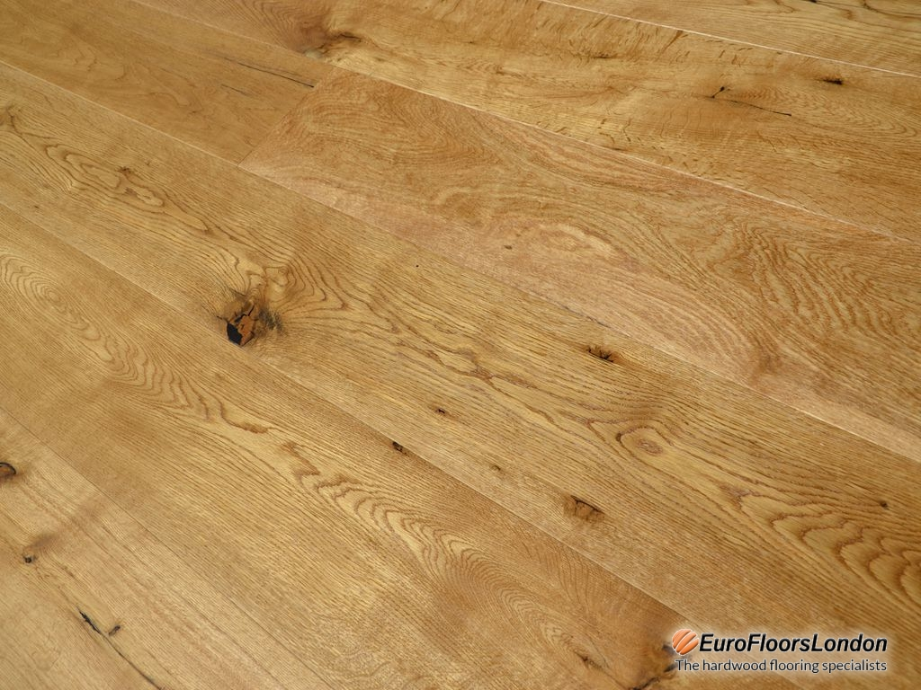 Engineered oak flooring classic uv lacquered euro for Engineered oak flooring