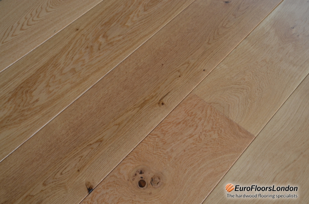 Engineered Oak Flooring, Rustic, UV Lacquered