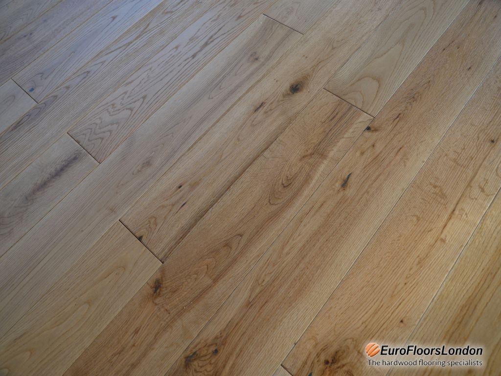 Engineered Oak Flooring, Classic, Brushed & Oiled – 18/5x125xRL