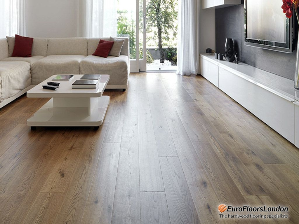 Engineered Oak Flooring, Classic Grade, Smoked & Oiled – 14/3x190x1900