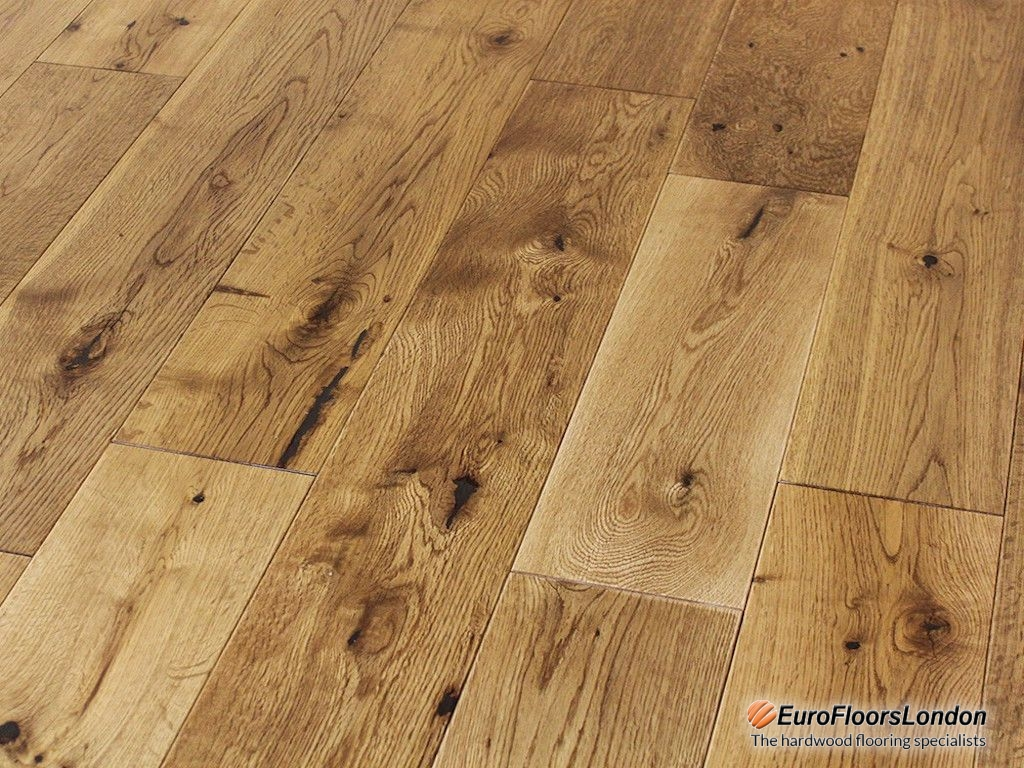 Solid Oak Flooring, Classic Grade, Brushed & Oiled – 18x125xRL