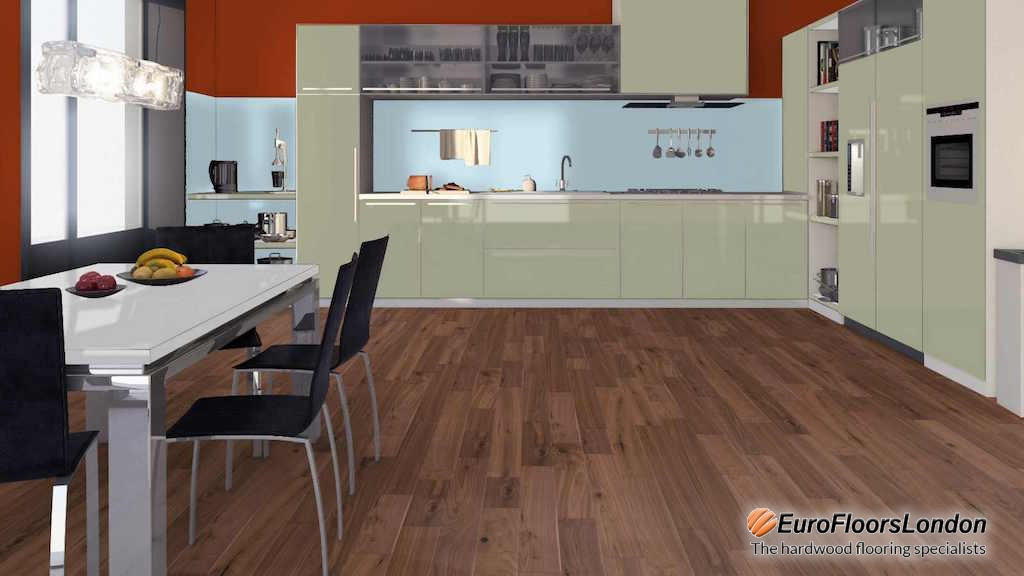 Engineered Walnut Flooring, Classic Grade, UV Oiled – 20/4x190x1860