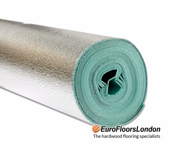 Carpet, Laminate, Wood Flooring Underlay – 3mm Underlay – Comfort Silver